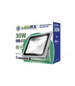 Светодиодный прожектор LEDEX 30W STANDARD