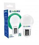 Світлодіодна лампочка LEDEX 7W E27 PREMIUM (Шарик)