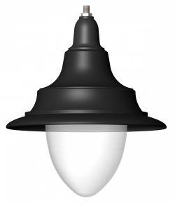 Светильник парковый Антик конус, пустой